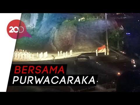 Tulus Nyanyikan Indonesia Raya di Pembukaan Asian Games 2018