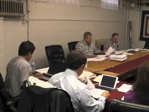 Ticonderoga Town Board Meeting  6-12-14