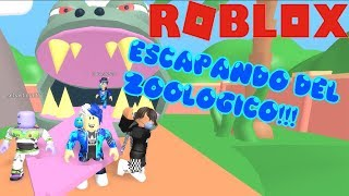 WE ARE IN THE ROBLOX ZOOLOGICO HONEY ANIMALS IN ROBLOX KREIGGAMER ROBLOX