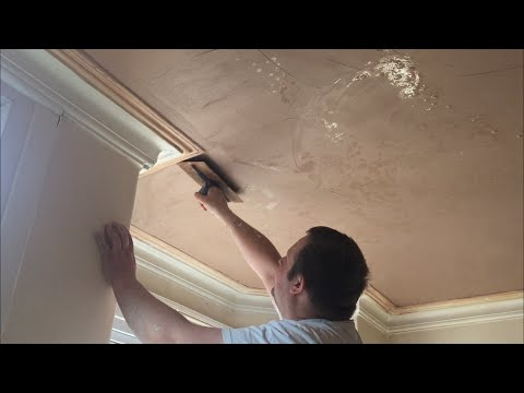 Painting & Decorating, How to plaster a ceiling