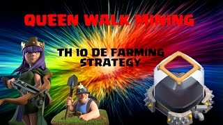 TH10 How to farm DARK ELIXIR in HIGHER LEAGUES