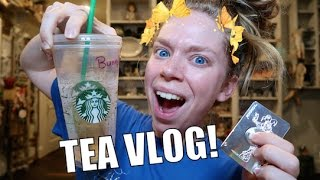 I'M ACTUALLY FEELING BETTER!- TEA VLOG