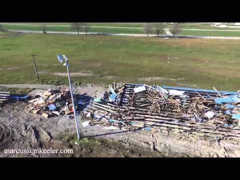 Barrie Speedway dismantled  November 2015