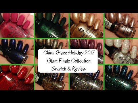 China Glaze Holiday 2017 Glam Finale Swatch & Review
