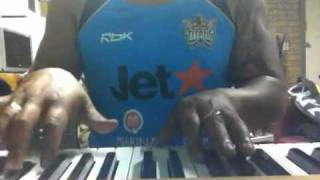 "India Arie ""chocolate high"" piano instrumental."