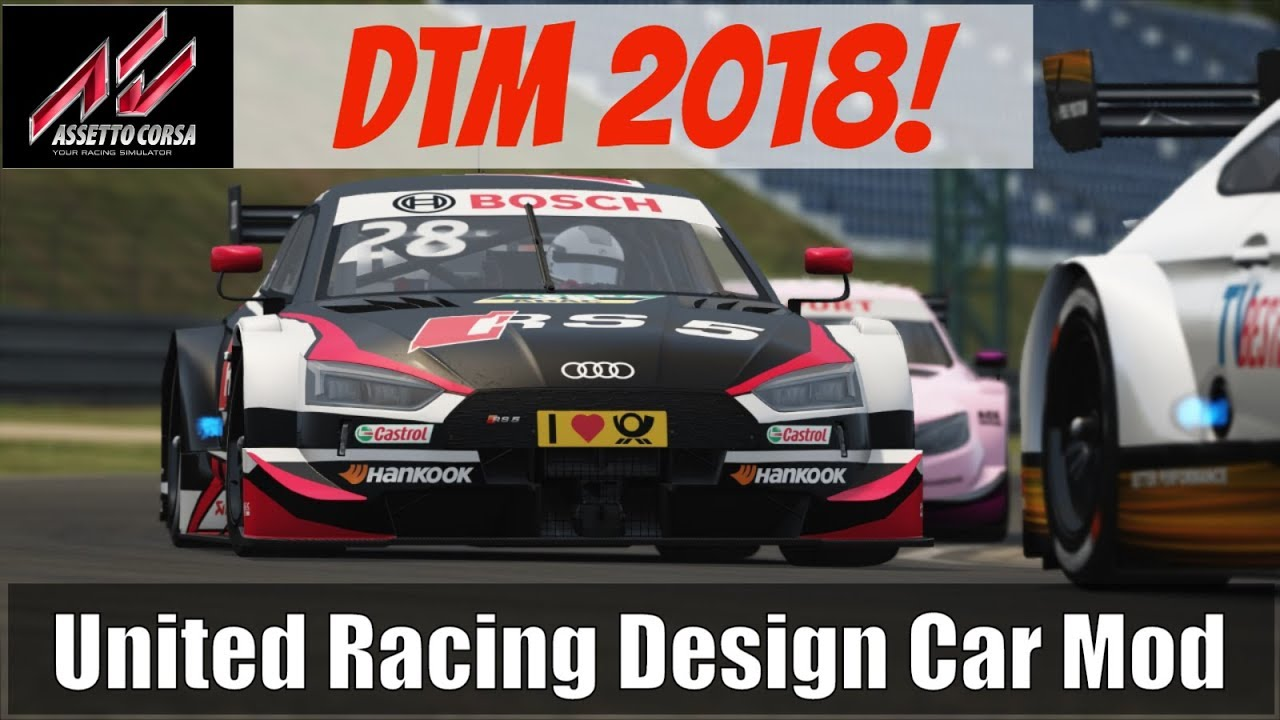 Simracing dtm unitedracingdesign