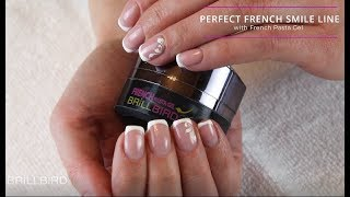 How To Do Perfect French Smile Line? Try French Pasta Gel!