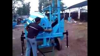 lift mixer under winch type