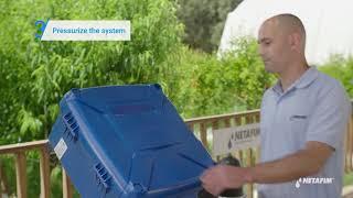 How to measure sprinkler flow rate | Netafim