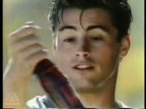 CocaCola commercial with Matt LeBlanc Bus Stop Cant beat the feeling 1990