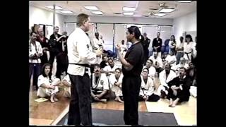 George Dillman/Dillman Karate International/Member performs KO