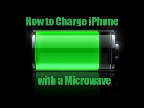 how to make iphone charger work how to charge iphone with microwave works 18912