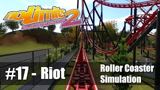 #17 Riot by Pwn Ze Cookies - Review 4.6/5 - NoLimits 2 - Roller Coaster POV - PC 60fps