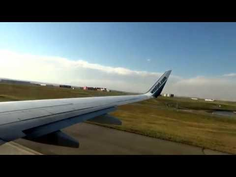 WESTJET FLIGHT BOEING 737-800 FROM CALGARY TO TORONTO (PART 1), SEP 30/16.