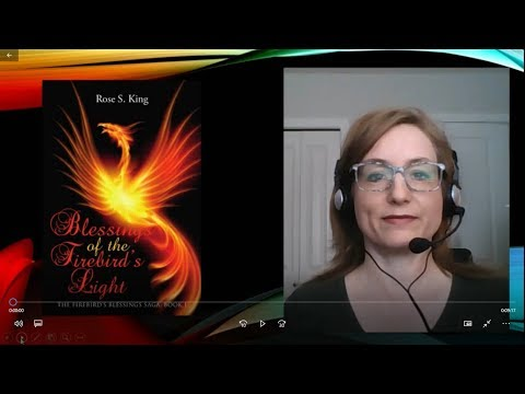 BOOK REVIEW Blessings of the Firebird's Light by Rose S King in Religious Fantasy
