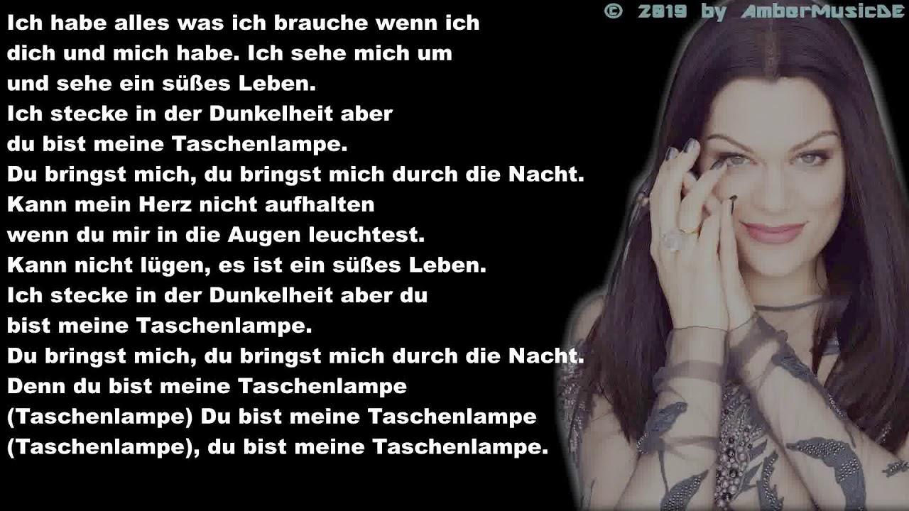 Jessie J   Flashlight Deutsche Übersetzung