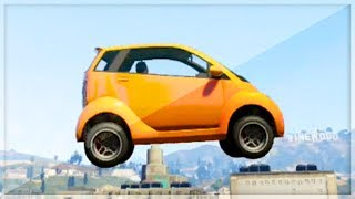 GTA 5 Funny Moments - Stunting With The Panto - (GTA V Online Games Stunts)