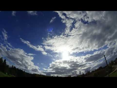Nibiru / Planet x watch. Weather time lapse, Latvia 27.09.2016