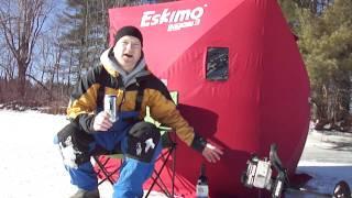 Survivor Man Ice Fishing Part 1