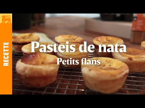 Pasteis de nata - Petits flans