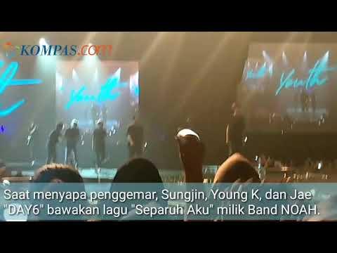 "Grup Band Korea DAY6 Bawakan ""Separuh Aku"" Milik NOAH Mp3"