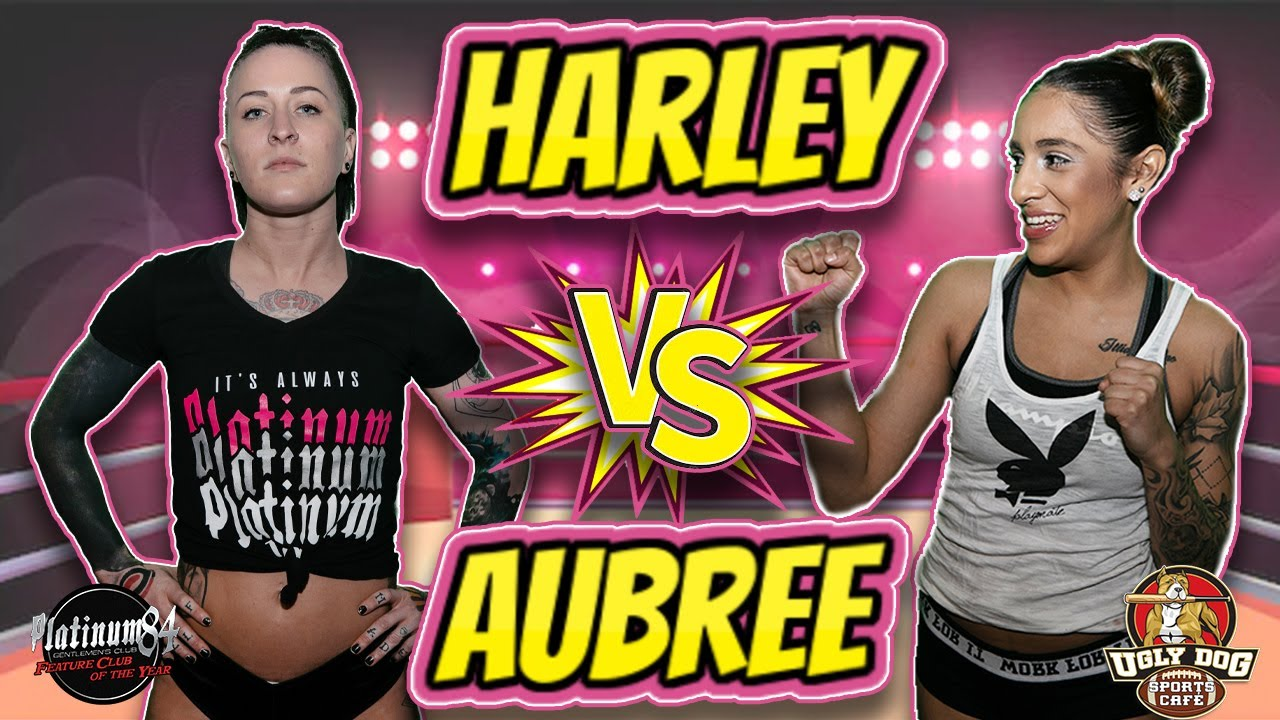 💥HARLEY Vs. AUBREE💦 Go CRAZY💥 In This No Holds Barred 🥊WILD Match🥊