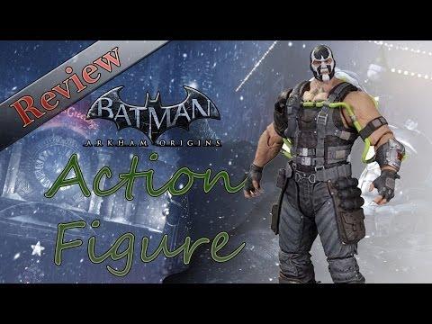 Batman: Arkham Origins   Series 1 Bane Action Figure REVIEW!