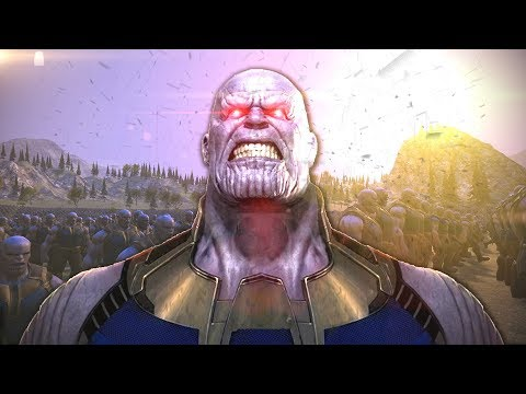 THANOS Macht ALLES KAPUTT?! Neue Mods! (UEBS: Ultimate Epic Battle Simulator)