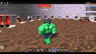 Roblox Hulk transformation