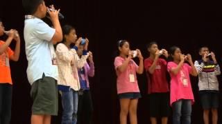 2015-08-21 --- 香港沙田崇真學校陶笛綵排