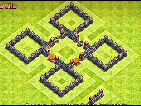 clash of clans best th4cv4 war base layout 2015 - Layout Cv 4 Clash Of Clans