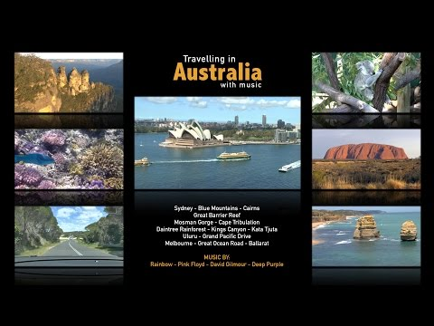 Australia Travel Video - Sydney, Blue Mountains, Uluru, Great Barrier Reef ...