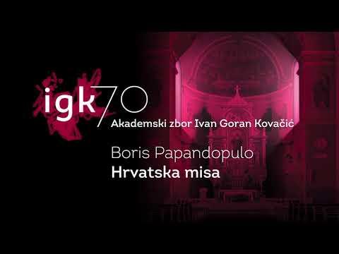 Boris Papandopulo: Croatian mass