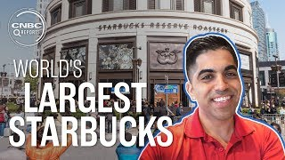 Inside the world's largest, fanciest Starbucks | CNBC Reports