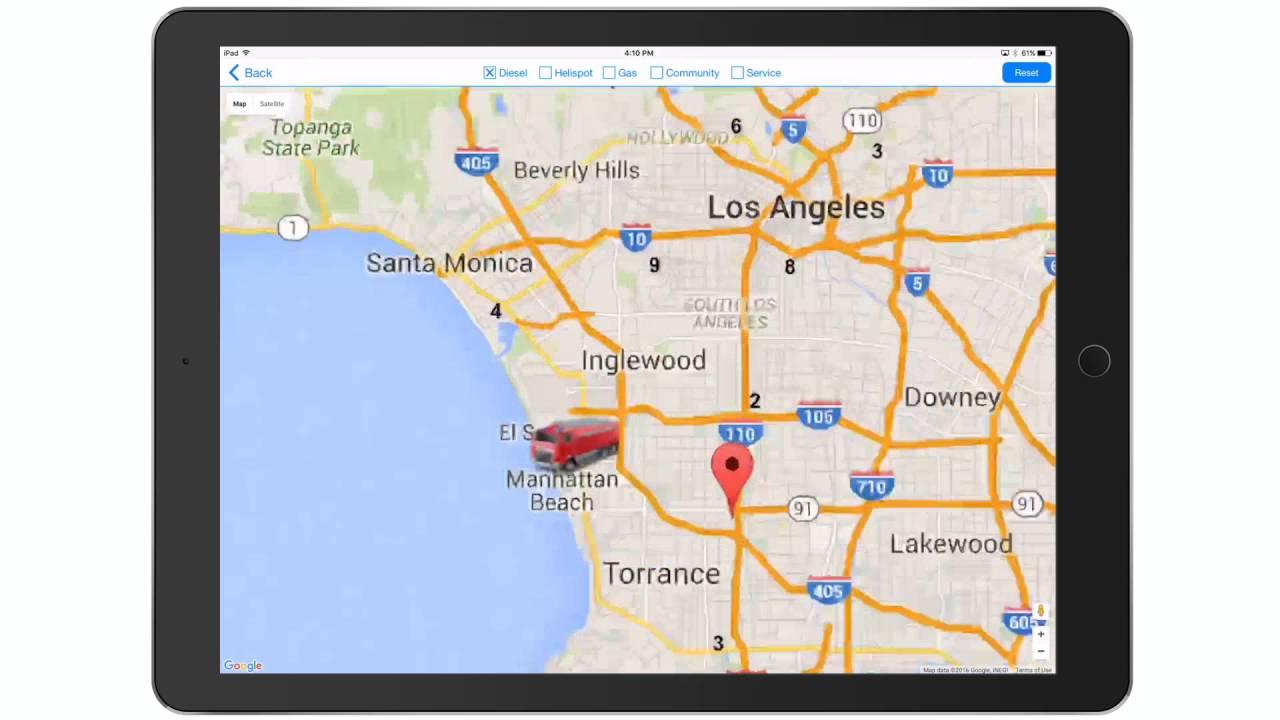 filemaker google maps distance