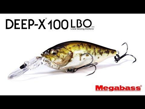ハイパーレスポンス・クランクベイトDEEPX100 LBO