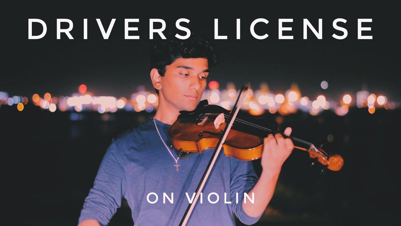drivers license (olivia rodrigo) - dramatic violin cover