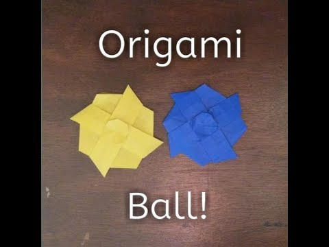 Origami Geometry Dash: CWP's Ball- Created By CWP