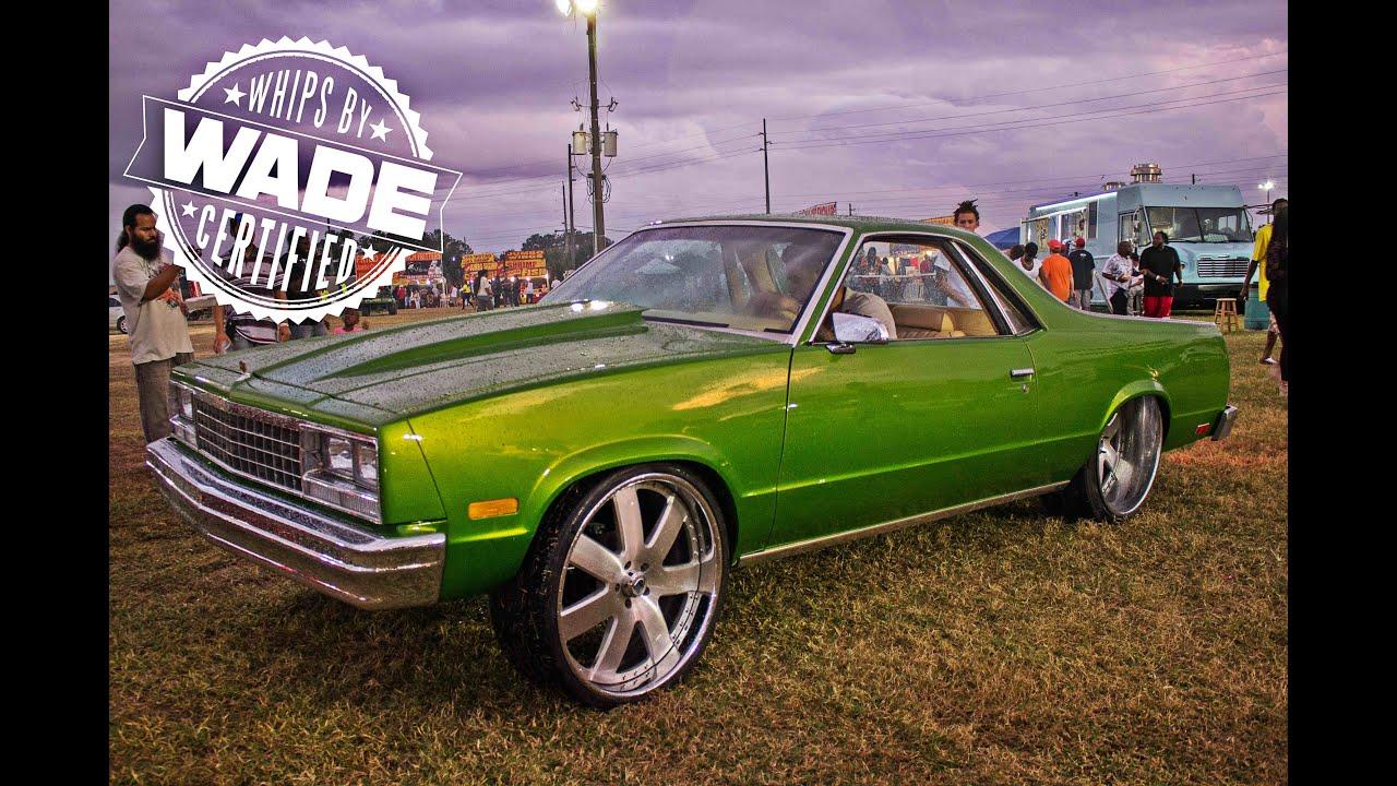 Miami Auto Show >> Classic Weekend 2k14 : El Camino tucking 24x12 Asanti ...