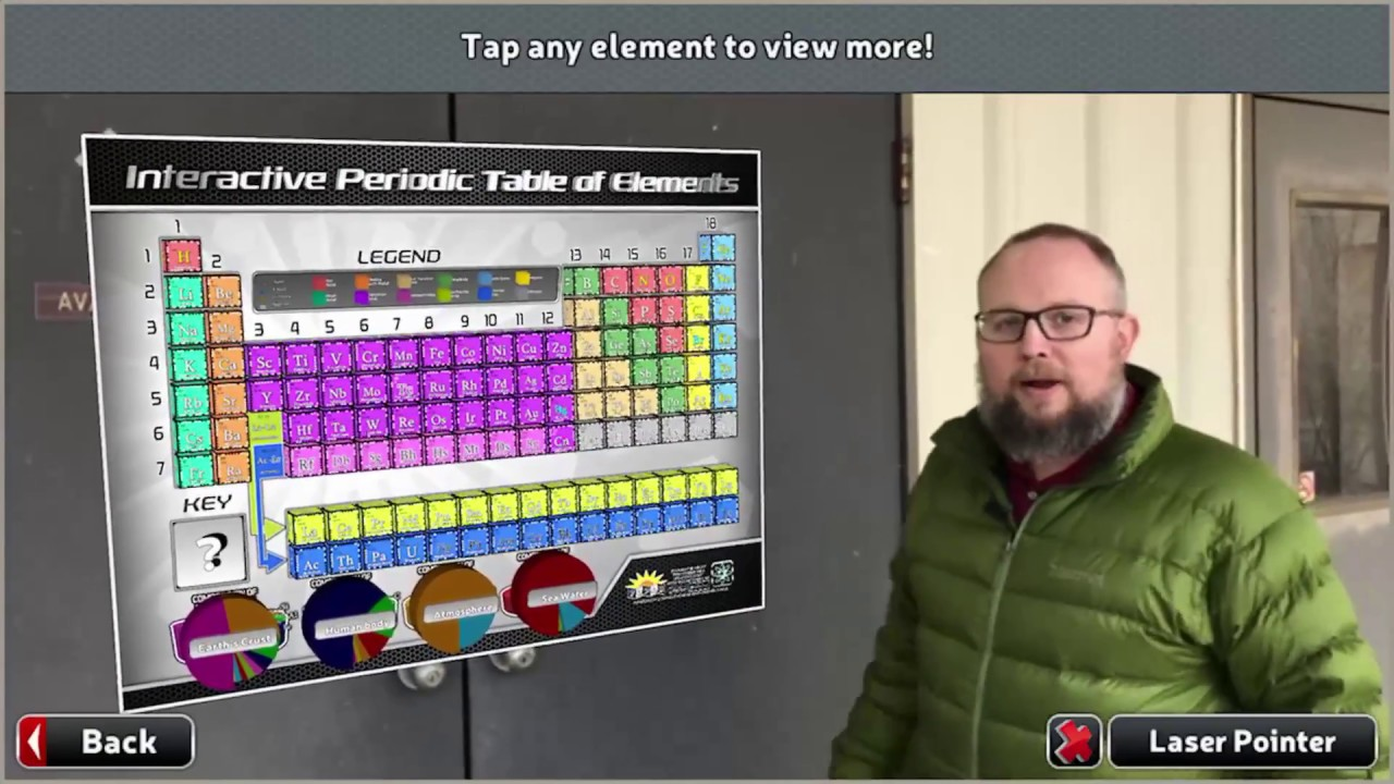 Play Time With Popars 3d Ar Periodic Table Youtube