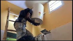Havells Water Heater installing