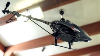 U13A Stealth Helicopter w/ built in Surveillance