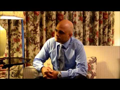 Interview with Sajid Javid, UK Secretary for Culture, Media and Sport