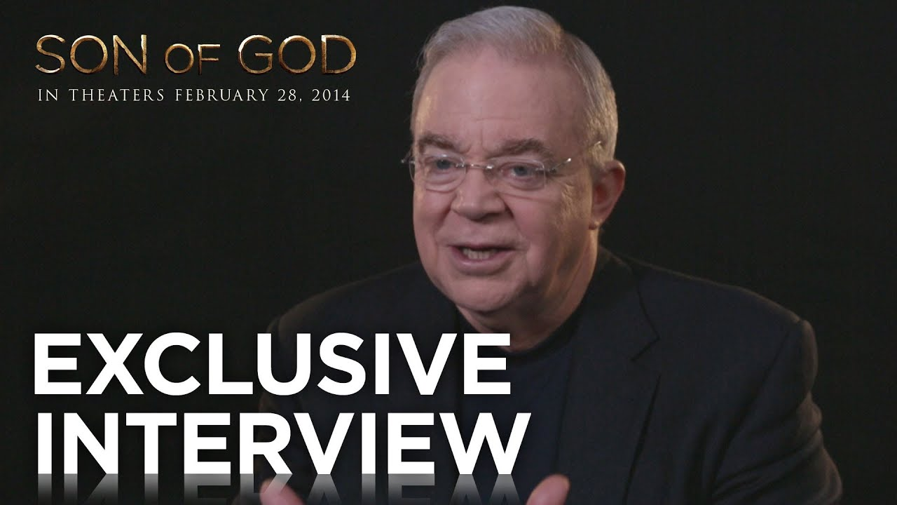 """Son of God   Jim Wallis """"The Last Supper"""" Exclusive Interview   20th Century FOX"""