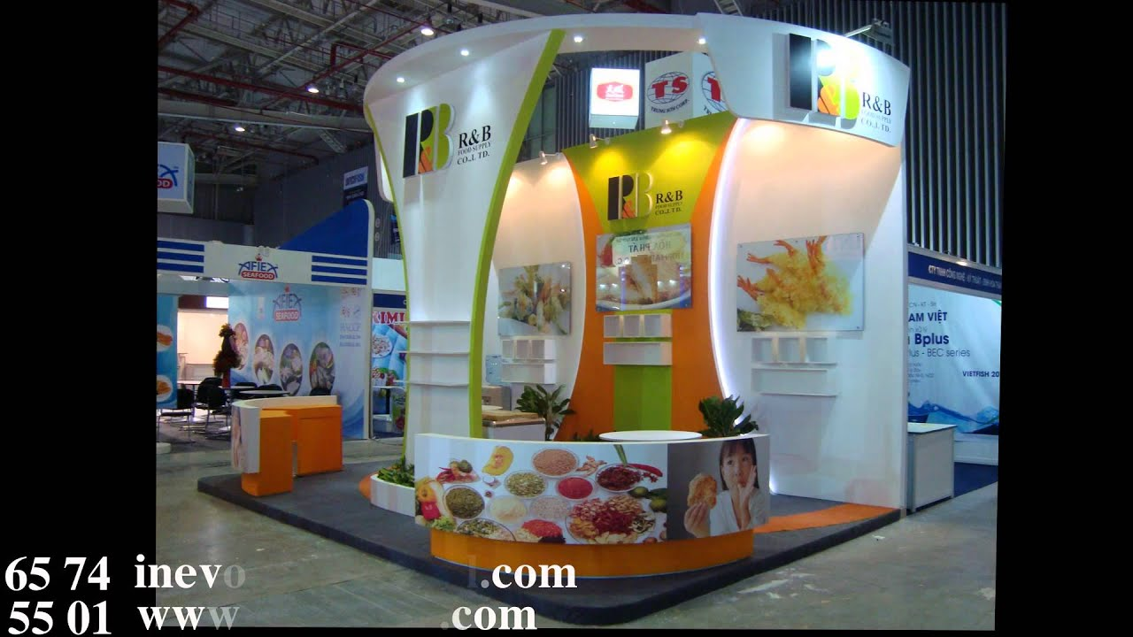 Exhibition Booth Contractor Usa : Exhibition booth contractor in vietnam youtube
