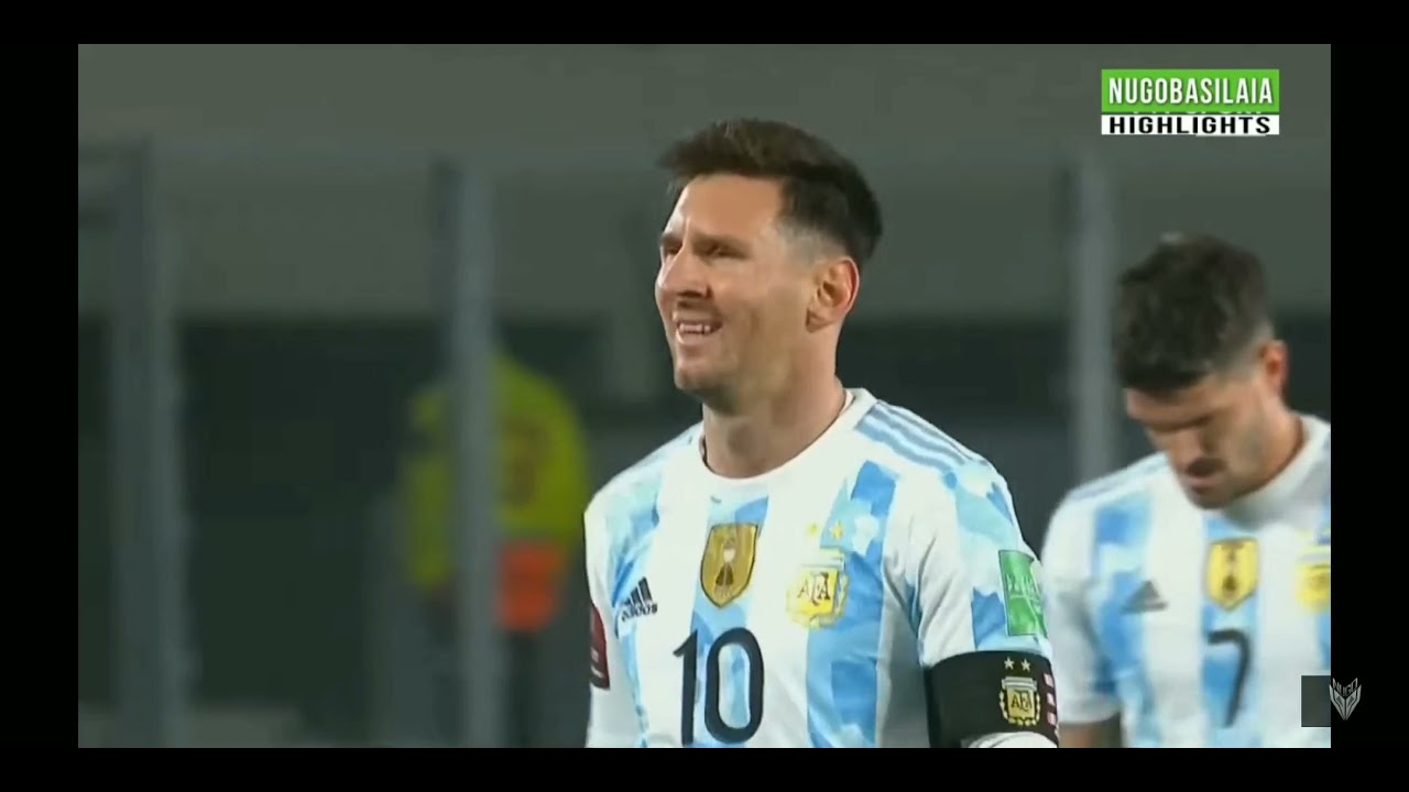 Download Lionel Messi Vs Bolivia ( World Cup Qualifiers ) 2021- HD