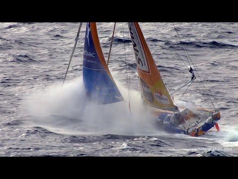 Die Favoriten stecken Kurs aufs Ziel ab - Vendée Globe 16/17