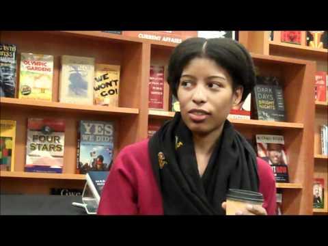 Sharifa Rhodes-Pitts at HueMan Bookstore