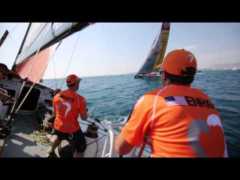 Team Alvimedica Wins First In-Port Race
