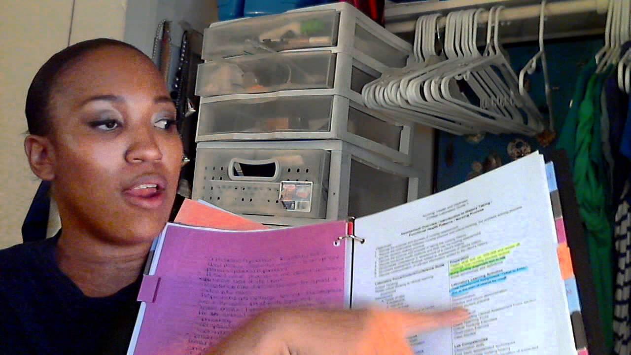 Nursing Vlog: How I organize my binder - YouTube